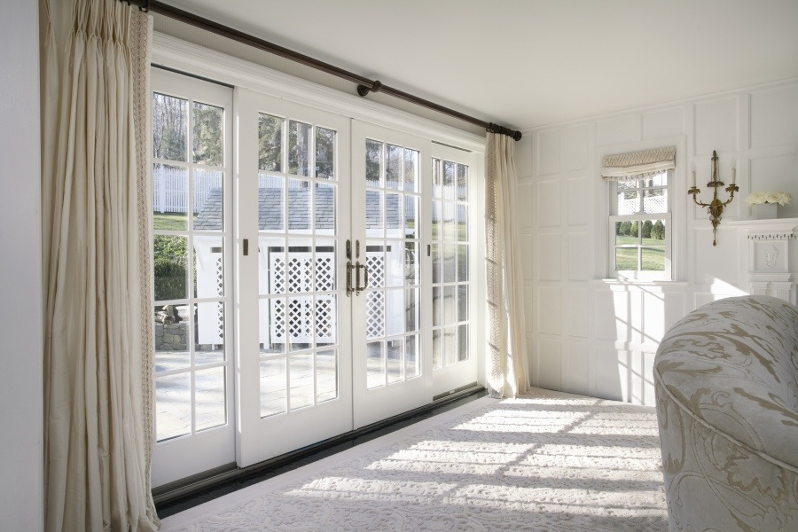 Patio doors for Sliding glass door to french door