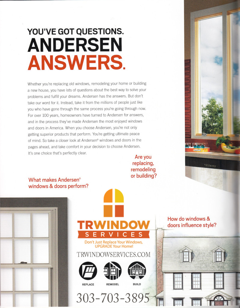 windows and answers copy1 799x1024 Denver Replacement Windows by TR Window Services