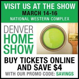 Denver Home Show 2014 Tickets