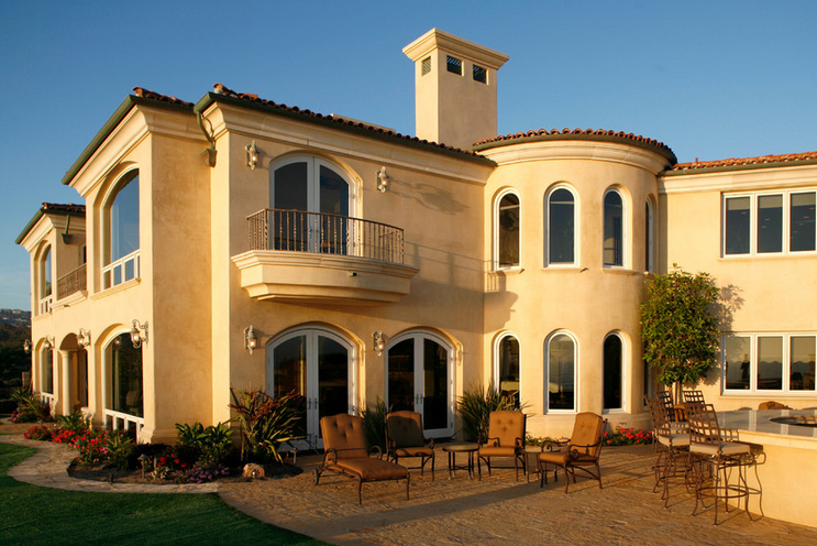 Type of house spanish colonial for Window styles for homes