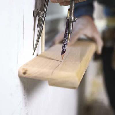 door jamb,install trim before carpeting,door trim installation,wood dents,base floor trim,keeping up the trim,door trim,installing trim